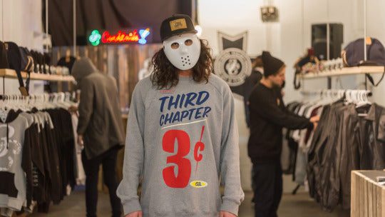 Third Chapter 3Cents Crewneck