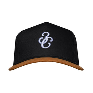 Iconic SnapBack Black/Tan