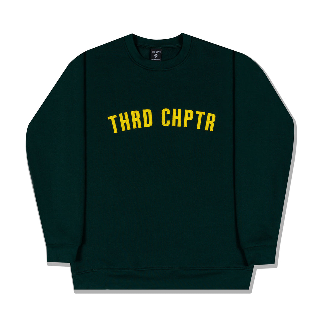 AUS Crew-Neck Forest Green