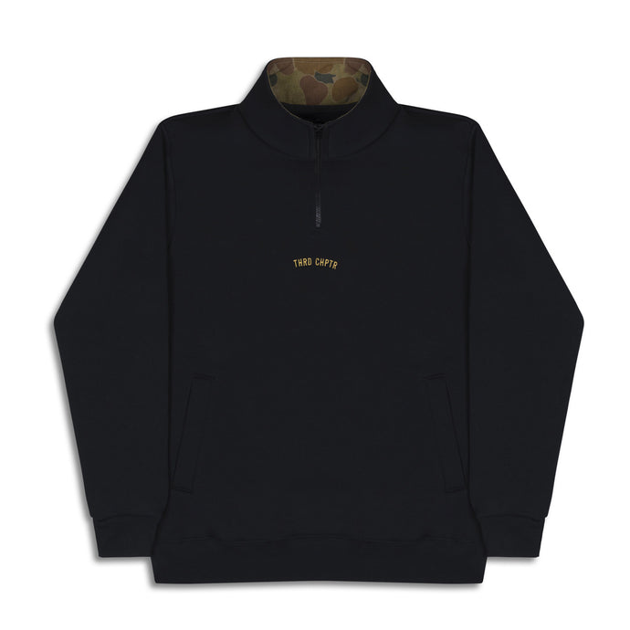 LowKey 1/4 Zip Sweater black