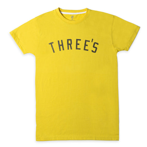 Threes Mesh Yellow