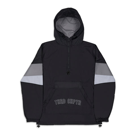 Raided Spray Jacket Black/Grey/White