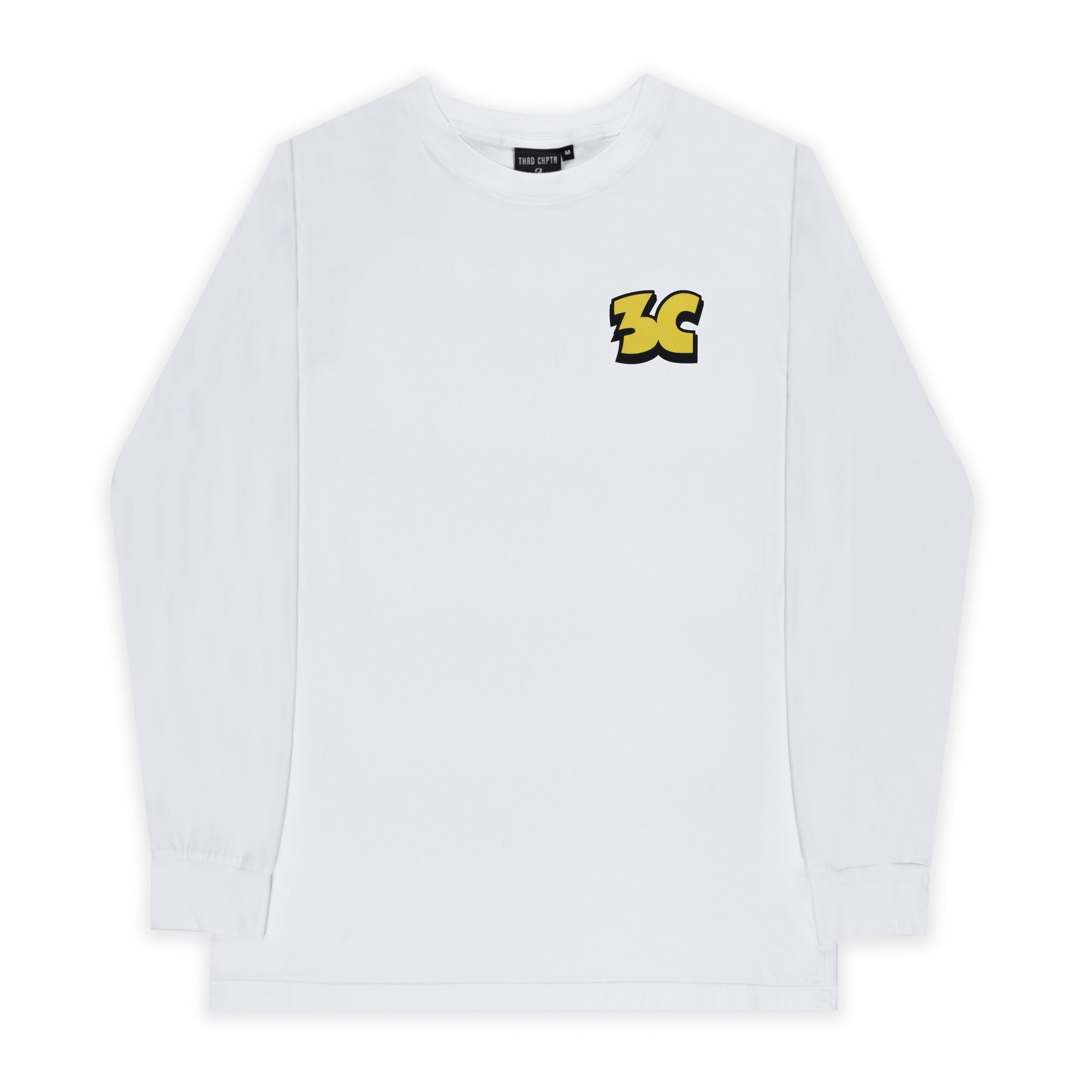 Sour Long Sleeve T-Shirt White