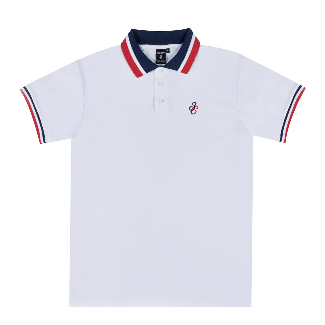Ace Polo SS White