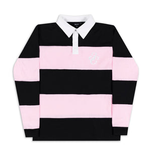 3C Rugby Jersey Black/Pink