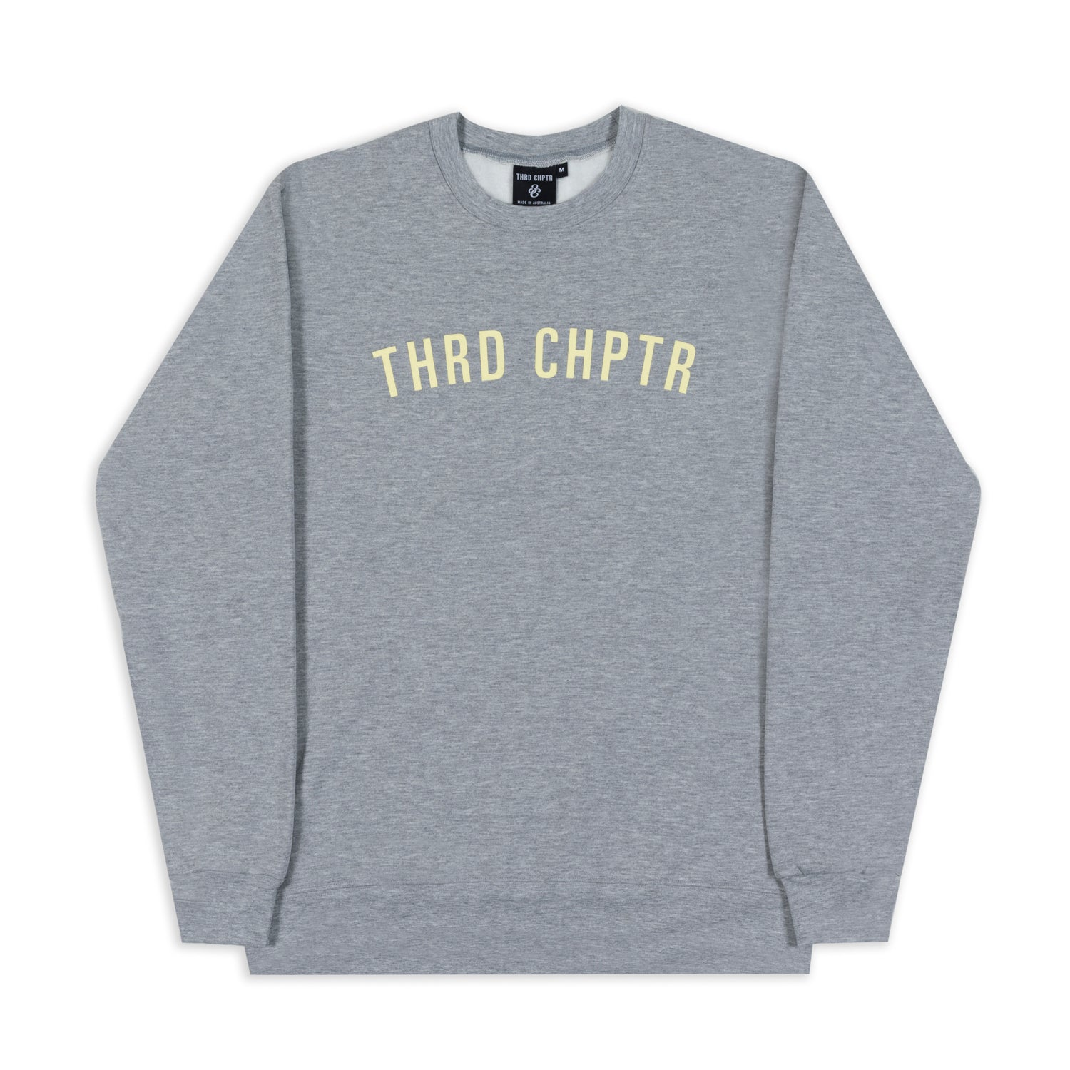 Straight Up Crewneck Grey