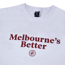 Load image into Gallery viewer, Melbourne's Better T-Shirt White