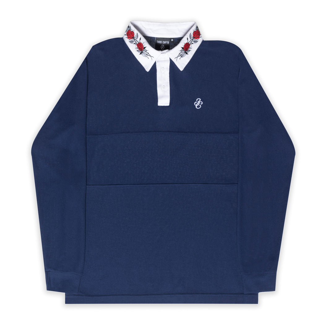 Rose Polo Navy