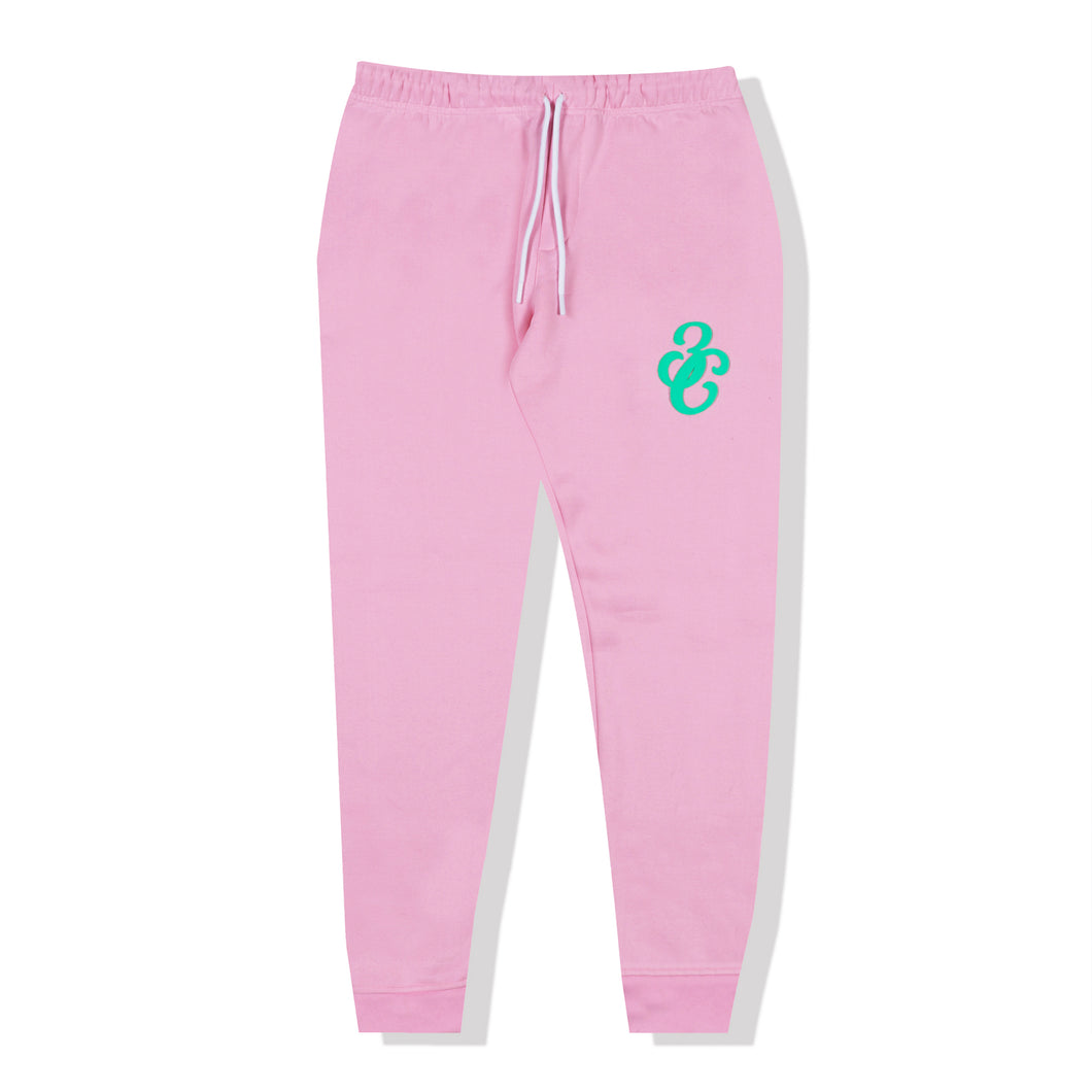 Puff Track Pants Pink