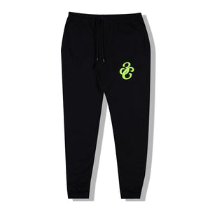 Puff Track Pants Black