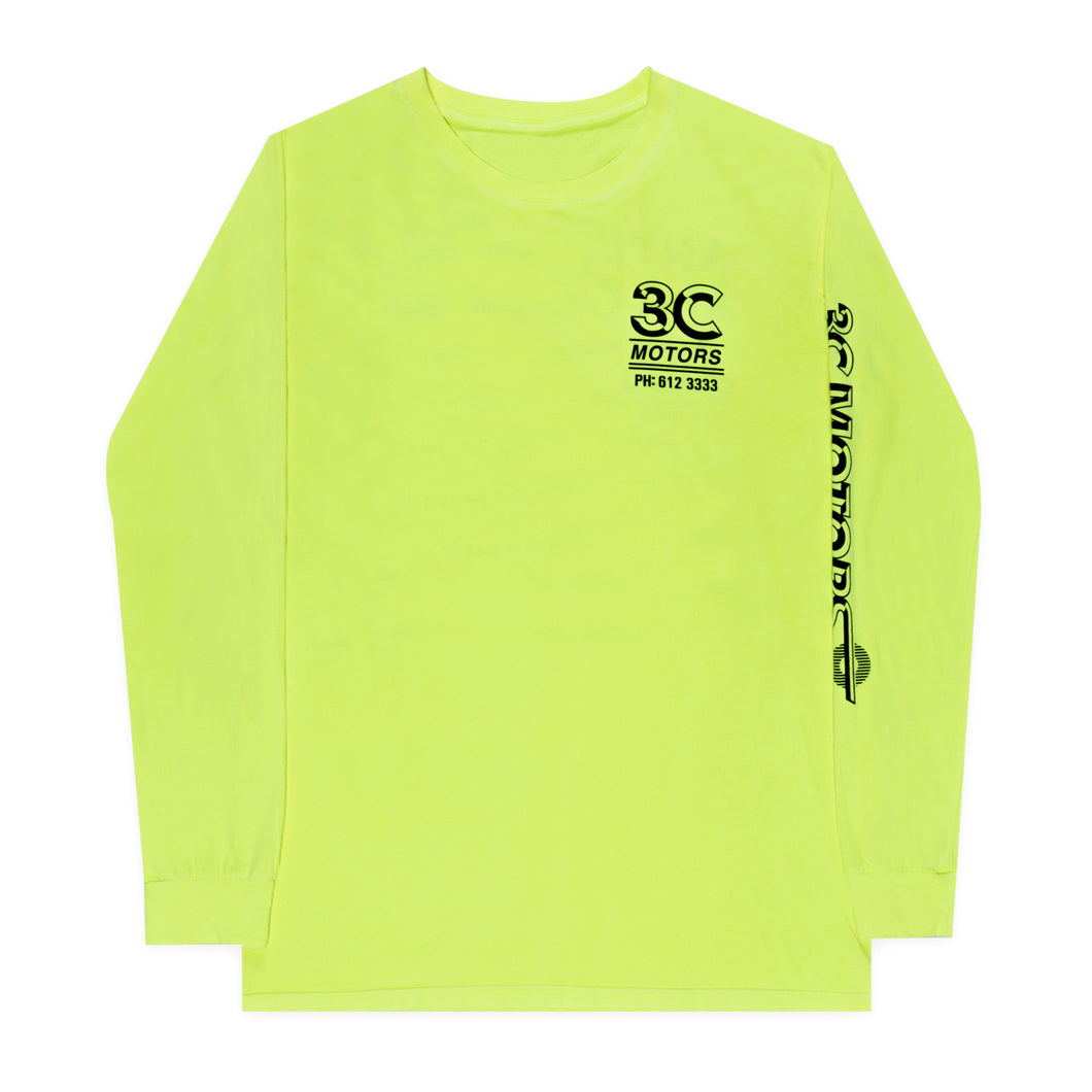 Motorsport Long Sleeve Yellow