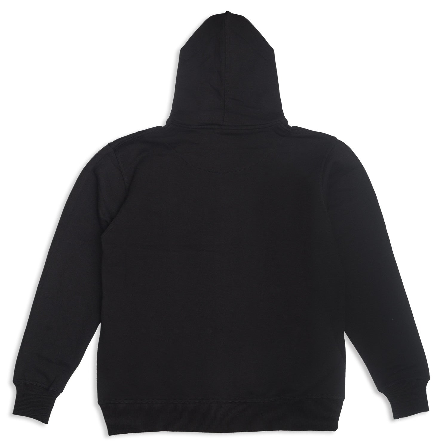 Three's Zip Hood Black