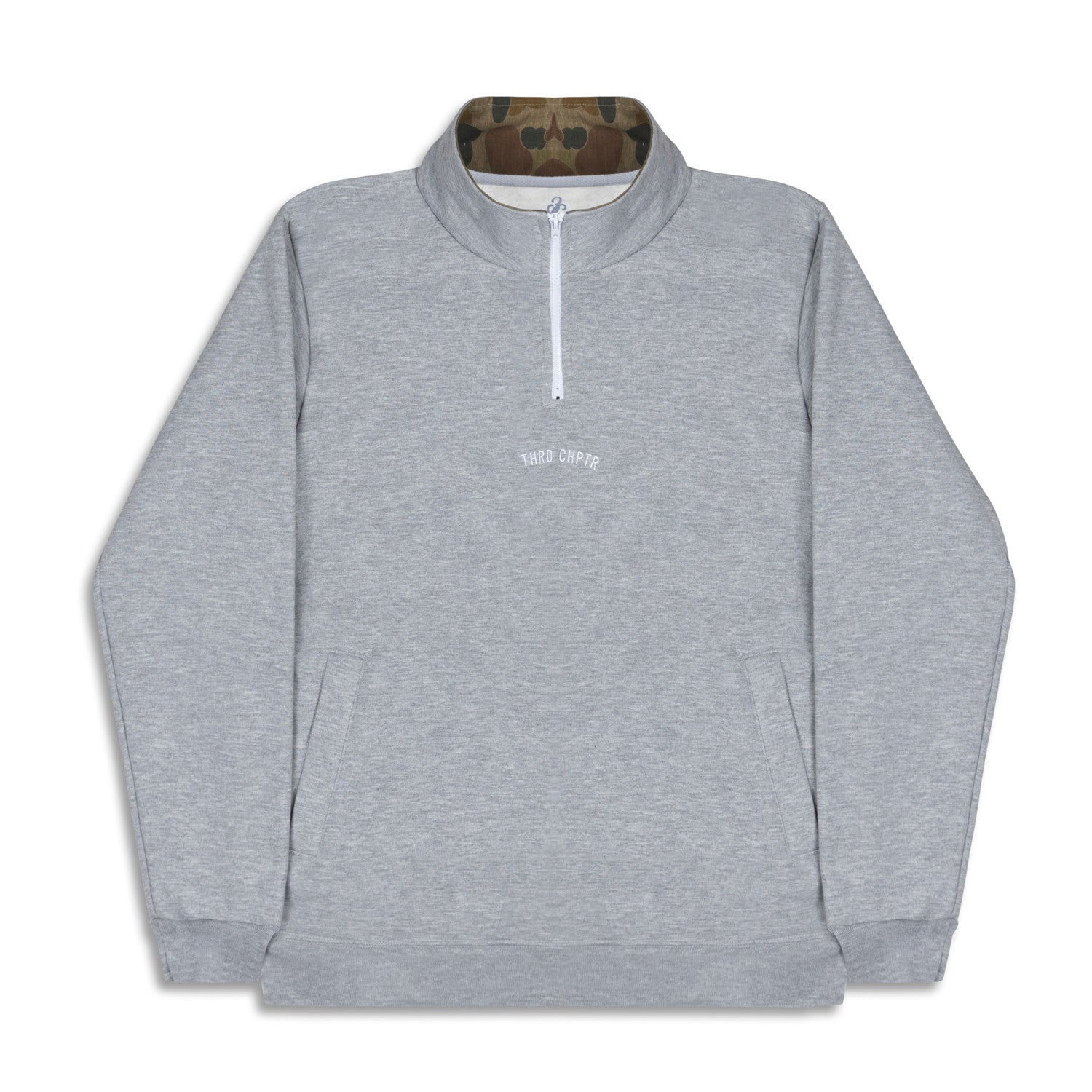 LowKey 1/4 Zip Sweater Grey
