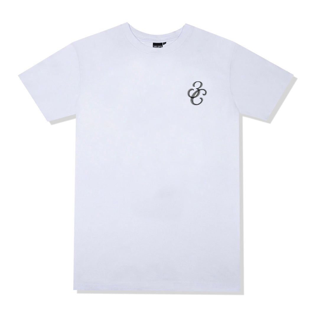 Crater T-Shirt White