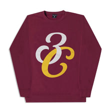 Load image into Gallery viewer, Monogram Crewneck Maroon