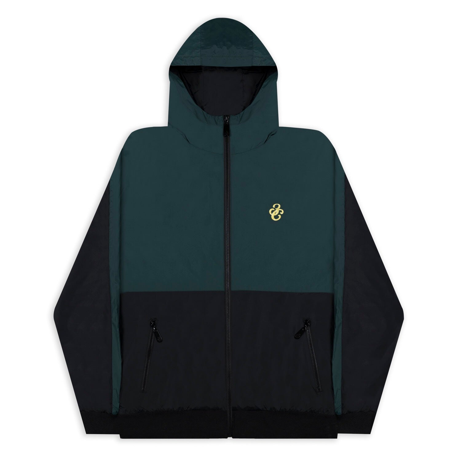 3C Windbreaker Green