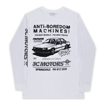 Load image into Gallery viewer, Motorsport Long Sleeve White