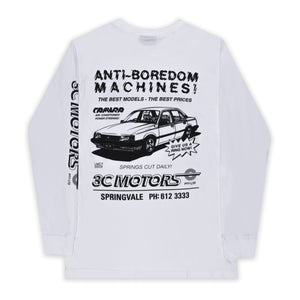 Motorsport Long Sleeve White