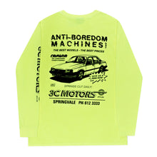 Load image into Gallery viewer, Motorsport Long Sleeve Yellow