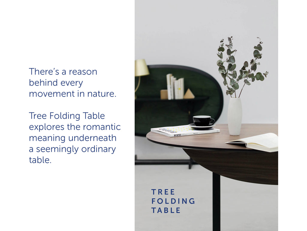 Tree Folding Table by ziinlife Modern Furniture