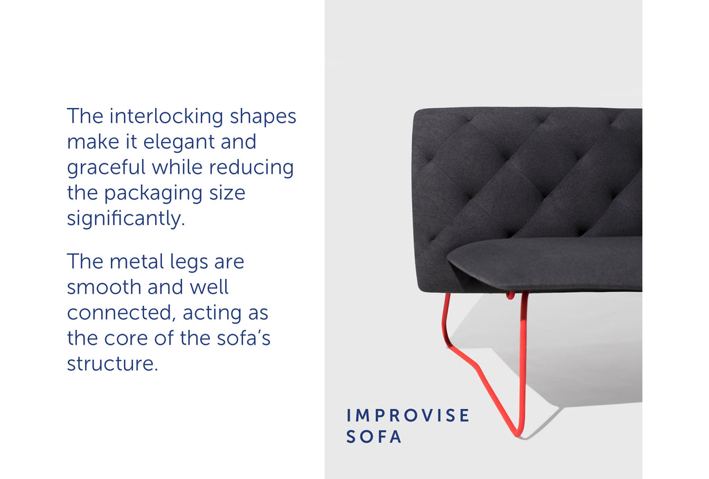 Improvise Sofa by ziinlife Modern Furniture