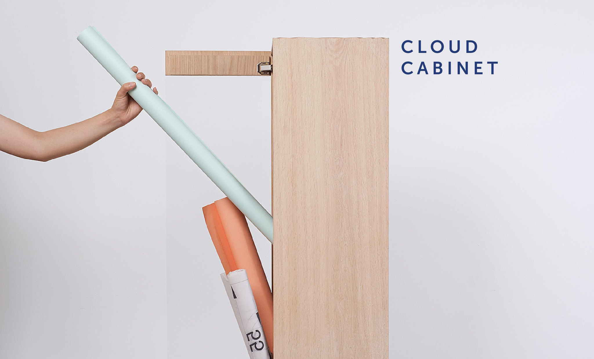 Cloud Cabinet from Playful Angles Furniture Collection by Ziinlife