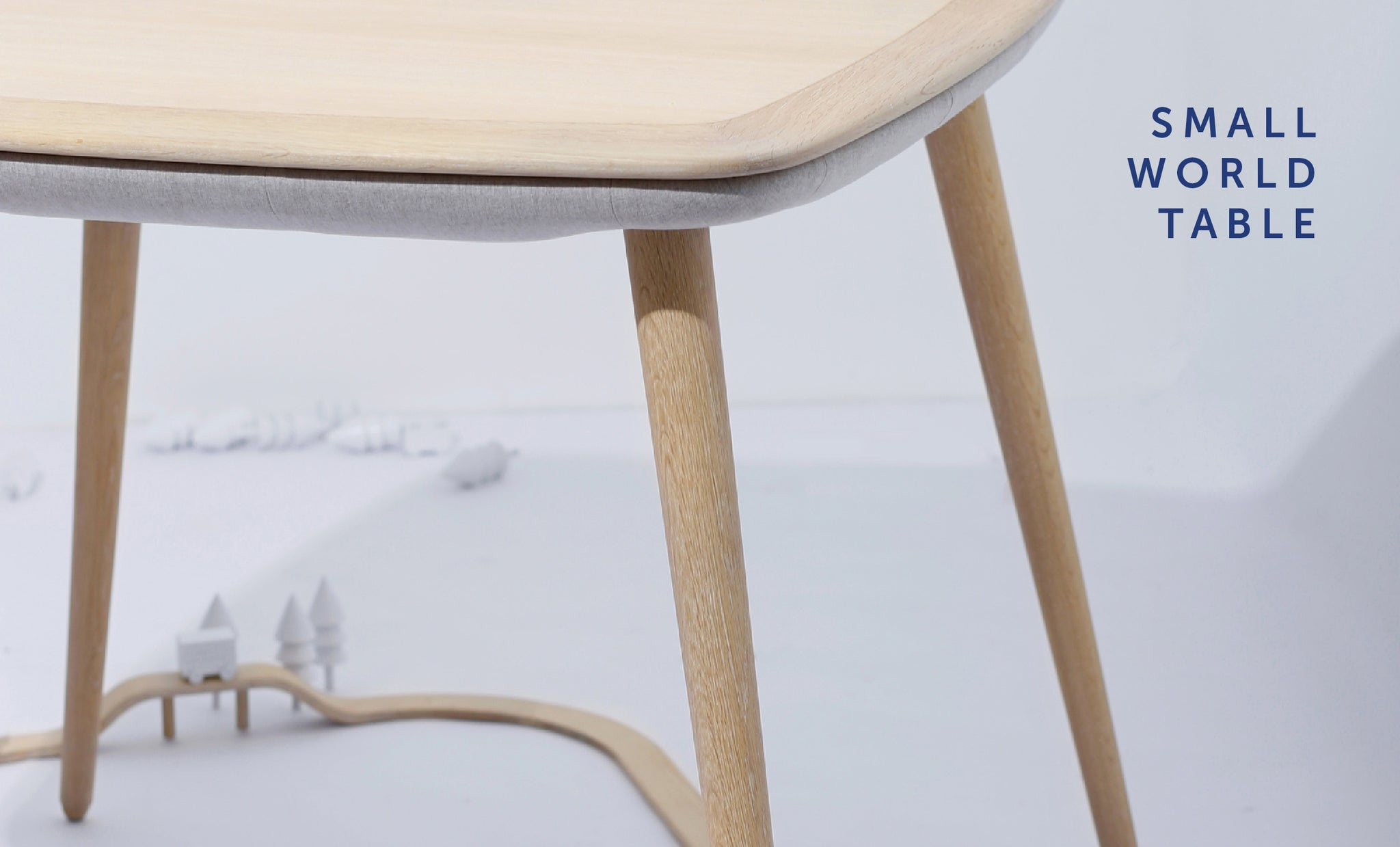 Small World Table from Playful Angles Furniture Collection by Ziinlife