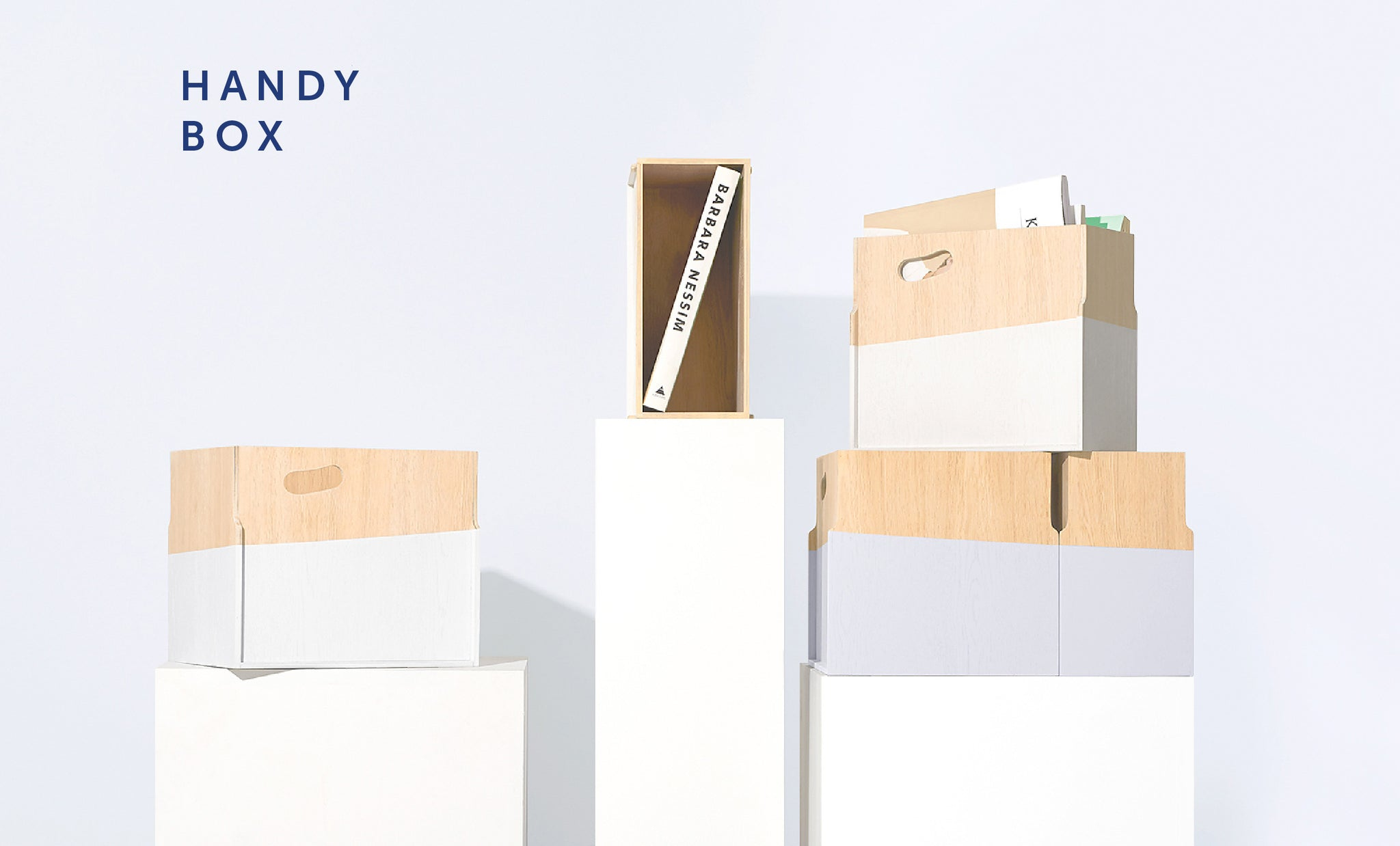 Handy Box from The Playful Angles Furniture Collection by Ziinlife