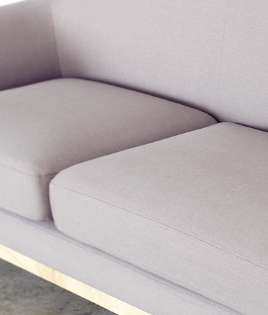 Huggy Sofa grey detail