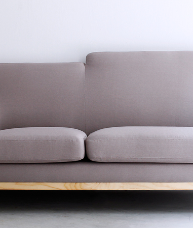 Huggy Sofa Warm Grey