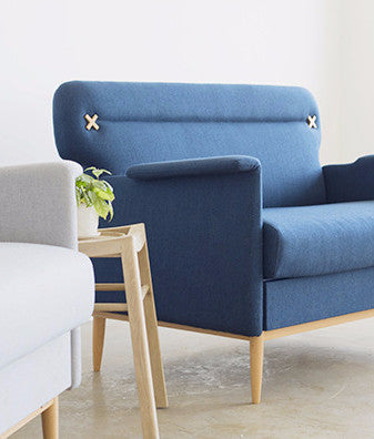SID DRAWER SOFA nany blue