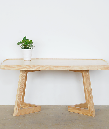 798 TEA TABLE Natural Oak