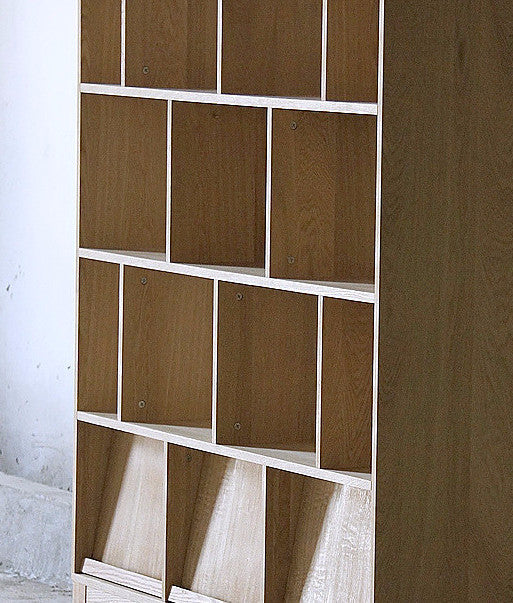 KARLI BOOKSHELF Brown