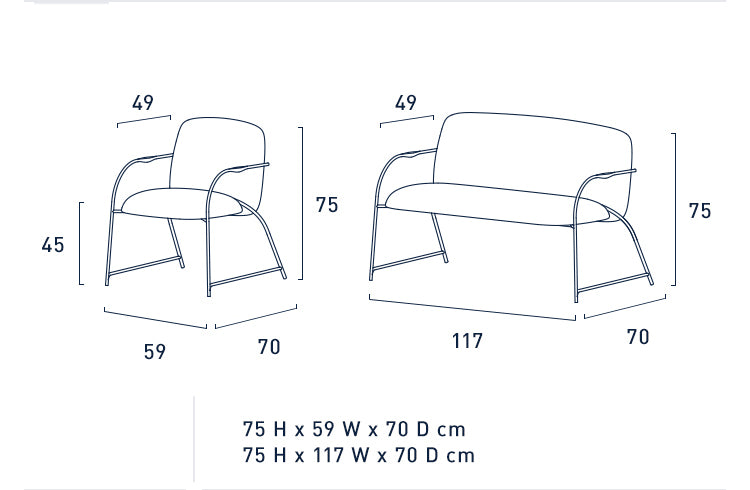 FLUID SOFA (SINGLE)