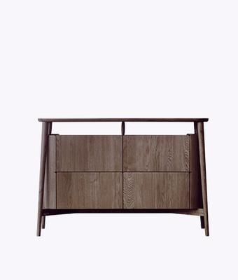 HOLD CABINET Ziinlife brown