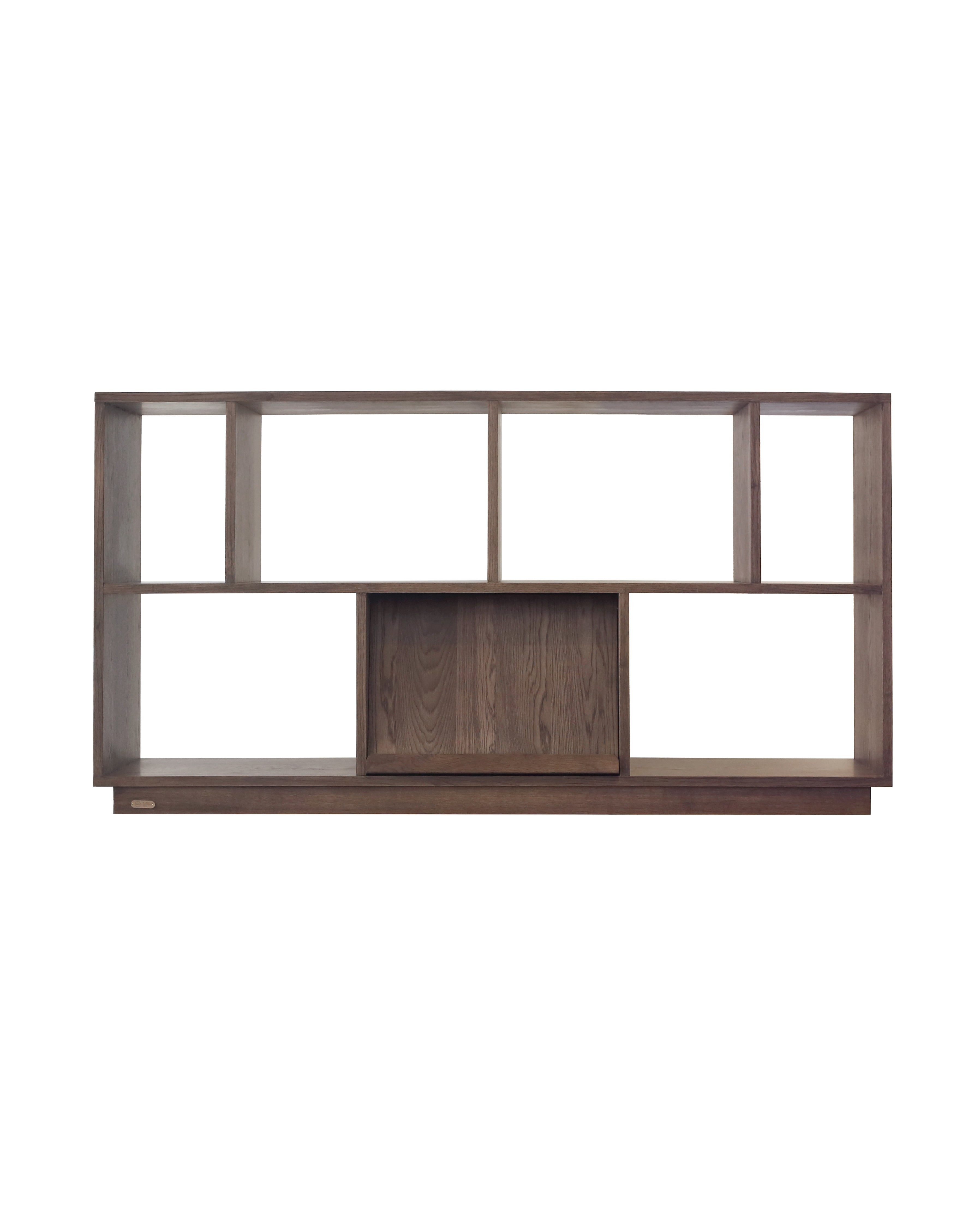 KARLI BOOKSHELF MODULE brown Ziinlife