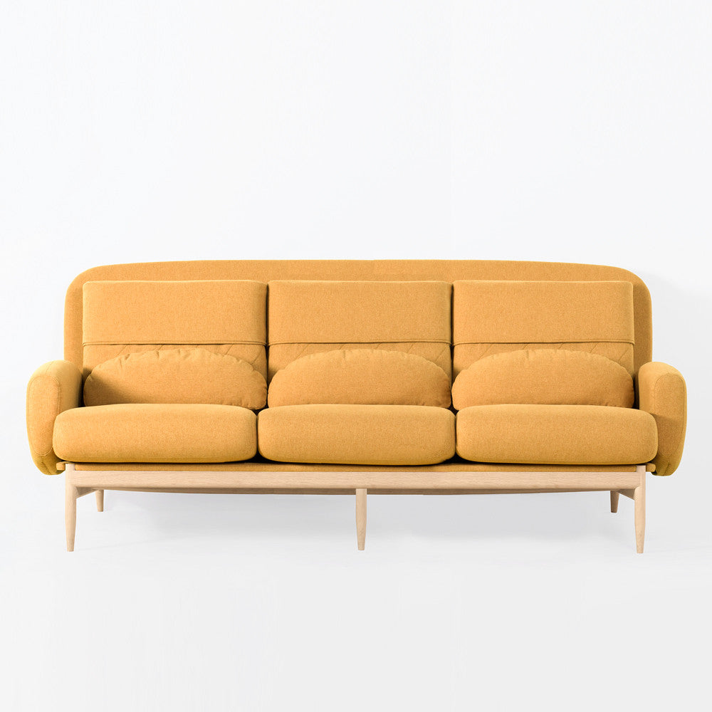 TURTLENECK SOFA - TRIPLE mustard