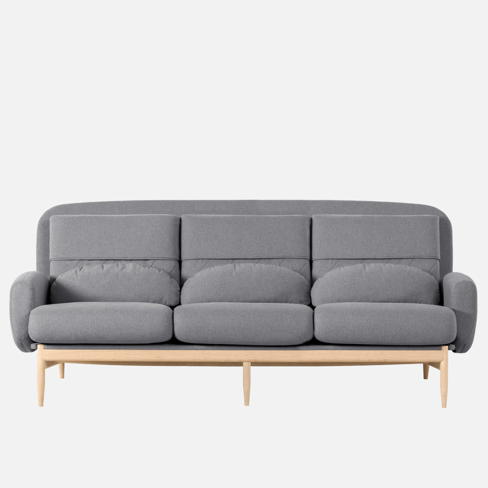 TURTLENECK SOFA - TRIPLE charcoal