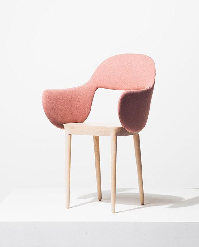 SLEEVE CHAIR pink