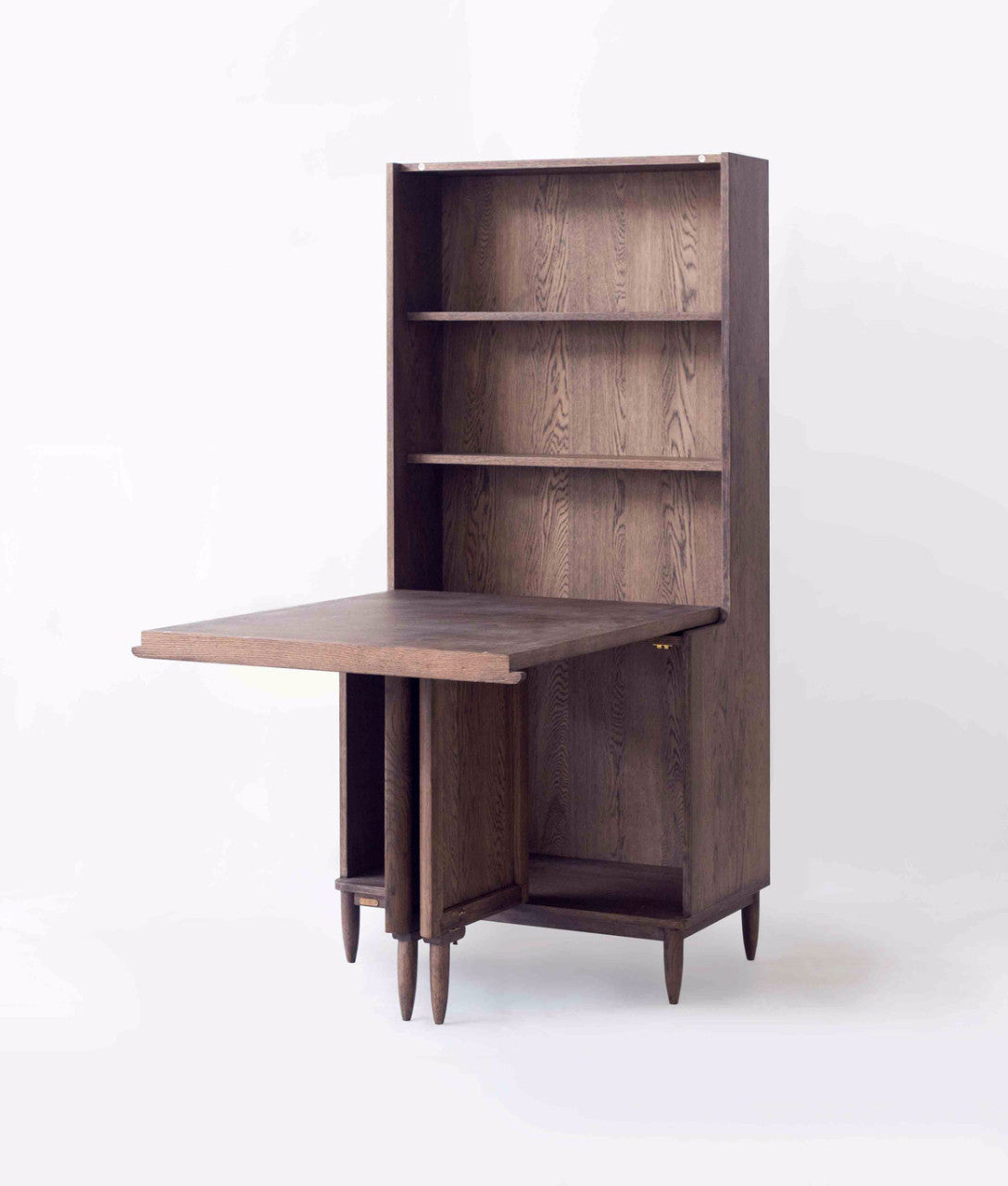 Ziinlife APO CUPBOARD TABLE WALNUT BROWN OPEN