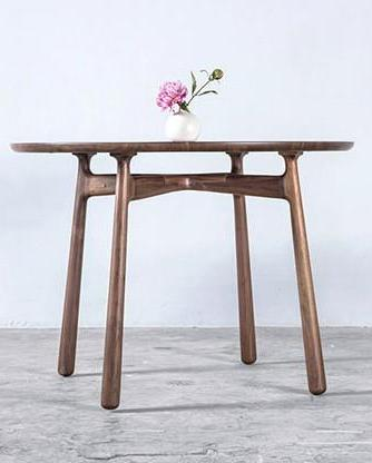 COME-TOGETHER DINING TABLE Ziinlife Walnut