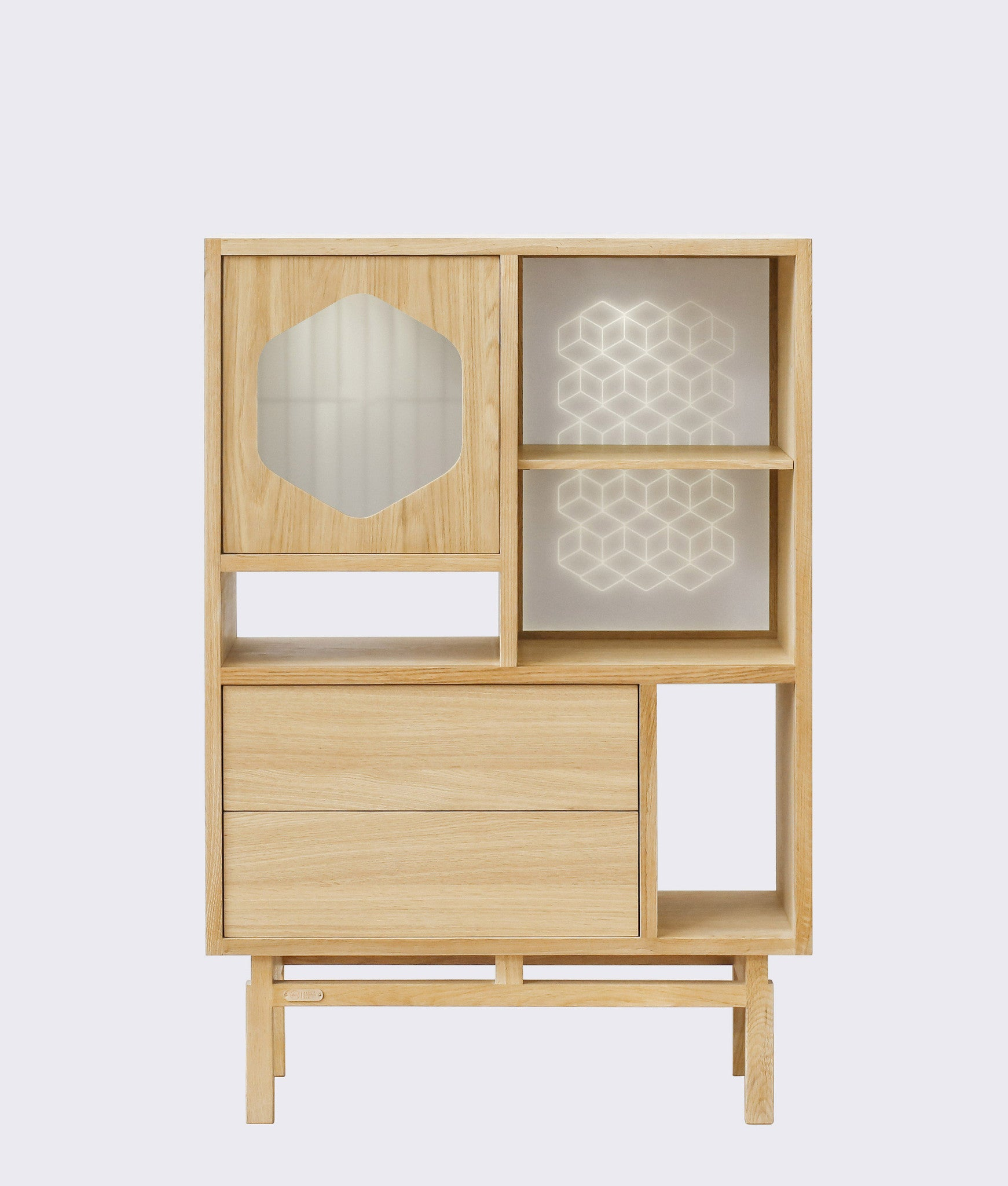 ENLIGHT CABINET Ziinlife Natural Oak
