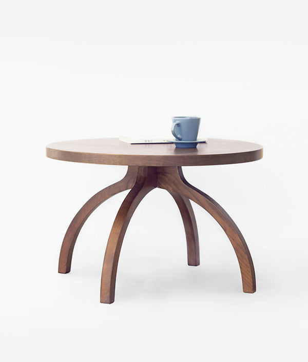 HILL TEA TABLE Brown
