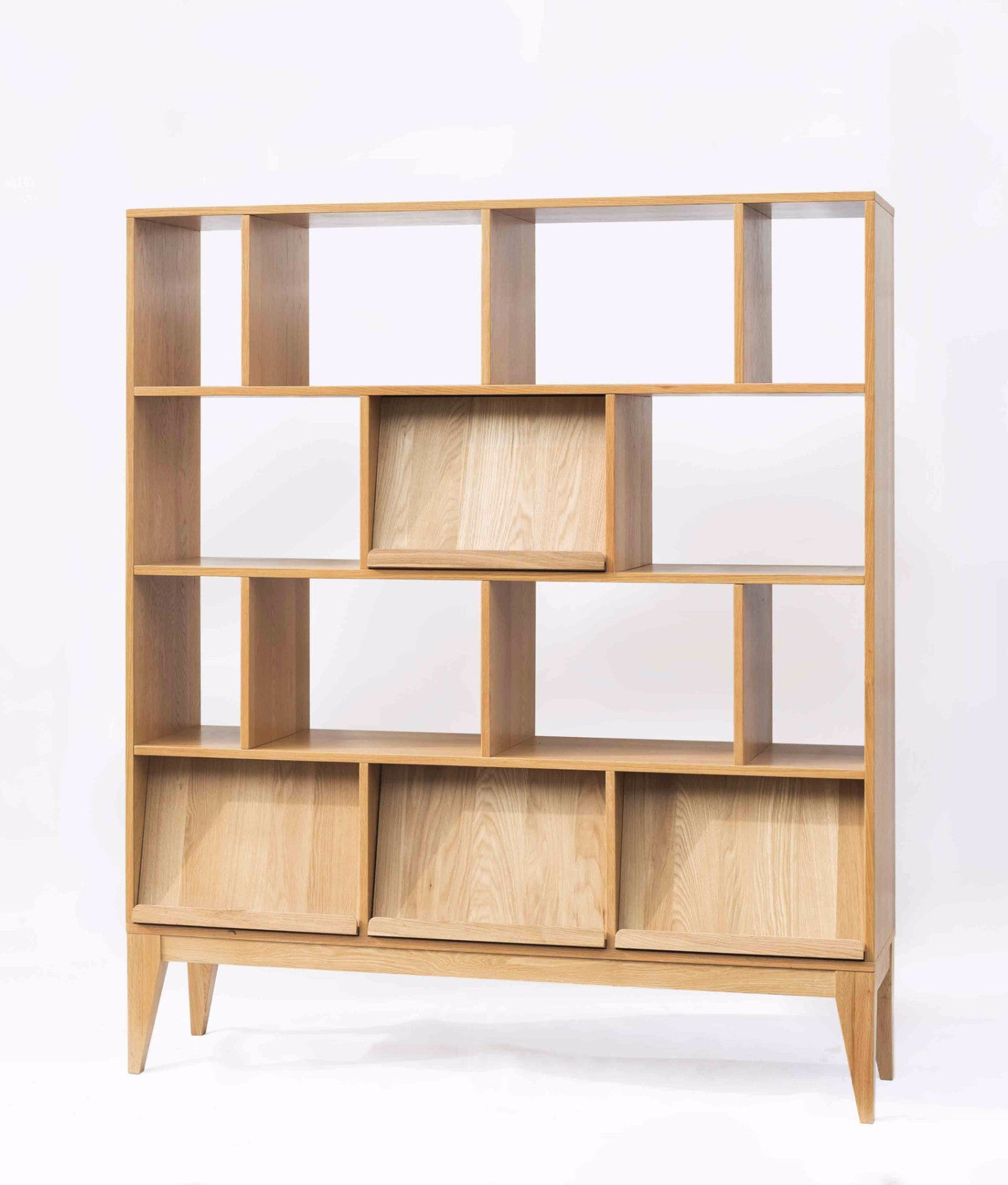 Ziinlife KARLI BOOKSHELF NATURAL OAK