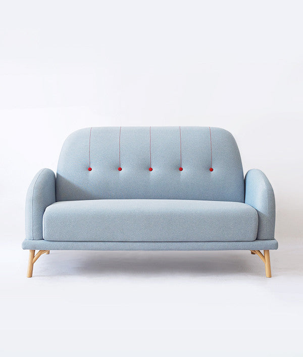 NIFTY SOFA (DOUBLE) blue