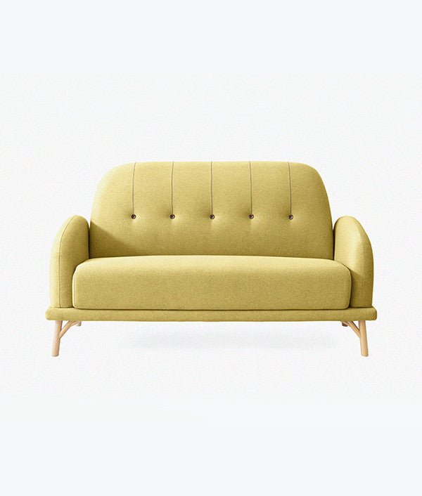 NIFTY SOFA (DOUBLE) lime yellow