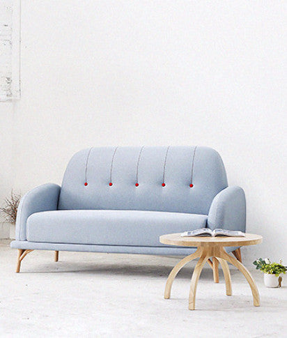 NIFTY SOFA (DOUBLE)blue front