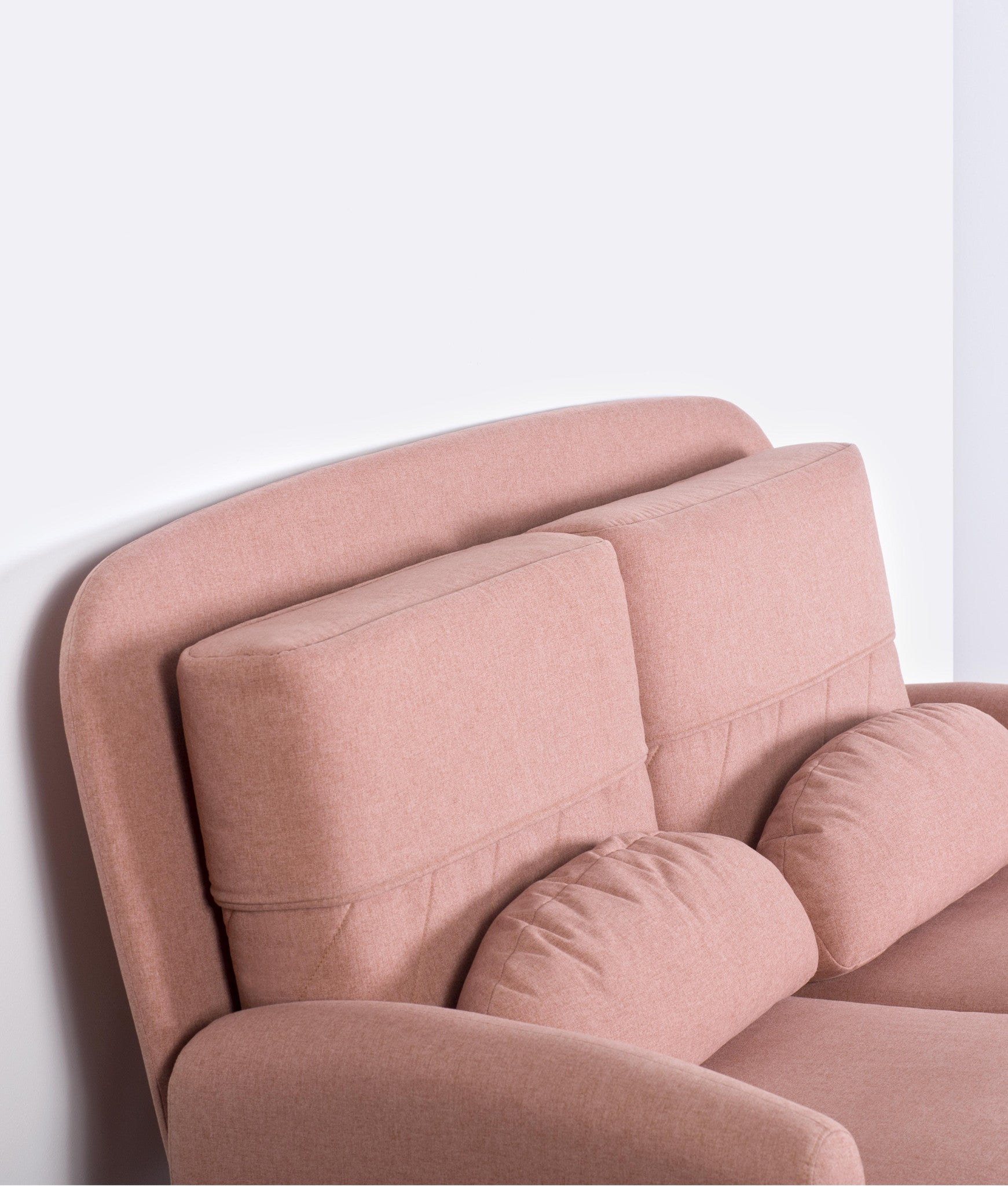 TURTLENECK SOFA - DOUBLE peach