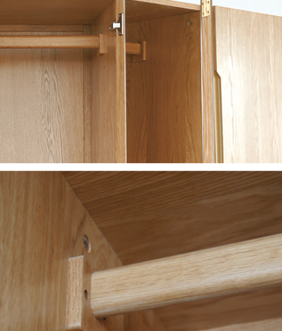WIDE WARDROBE detail
