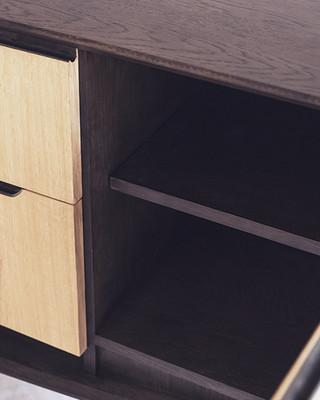 Ziinlife delight TV cabinet side drawer